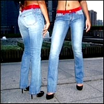 Stylish Italian Jeans by Designer Angel