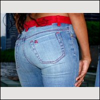 Italian Design at it's best from Designer Angel Womens Jeans