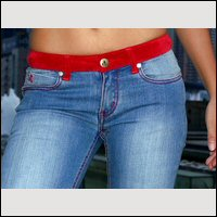 Hot looking Italian Ladies Jeans from Designer Angel Jeans